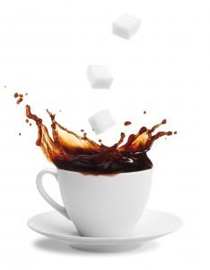 Una tazza il caffè